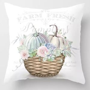 Pillow Cover Farm Fresh Print